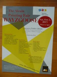wayzgoose poster