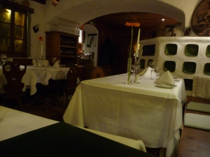 We had one of the best meals ever at this restaurant in Vienna!