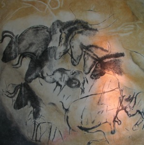 horses from the chauvet caves
