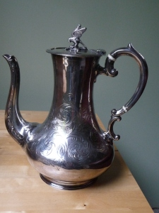 sheffield plate coffee pot