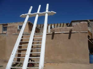 ladder to the kiva