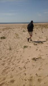 John on Ilha Deserta