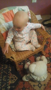 kelly in rocking chair