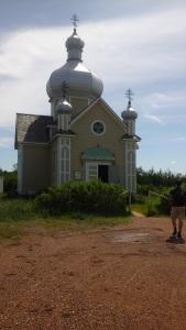 church at Ukrainian Village Museum