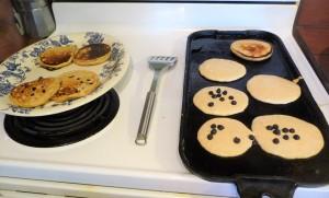 salal pancakes