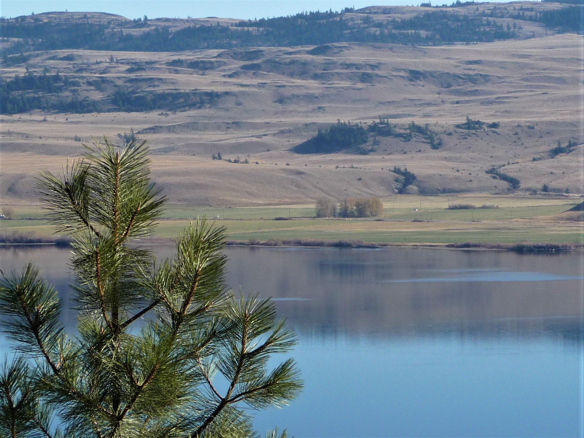 across nicola lake