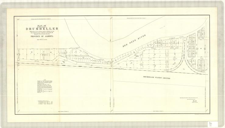 1917 map of squatters community