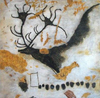 elk at lascaux